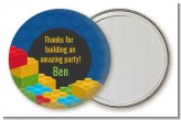 Building Blocks - Personalized Birthday Party Pocket Mirror Favors