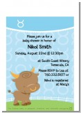 Bull | Taurus Horoscope - Baby Shower Petite Invitations