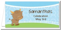 Bull | Taurus Horoscope - Personalized Baby Shower Place Cards