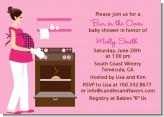 Bun in the Oven Girl - Baby Shower Invitations