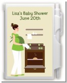 Bun in the Oven Neutral - Baby Shower Personalized Notebook Favor