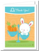 Bunny | Libra Horoscope - Baby Shower Thank You Cards