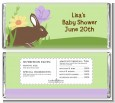 Bunny - Personalized Baby Shower Candy Bar Wrappers thumbnail
