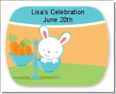 Bunny | Libra Horoscope - Personalized Baby Shower Rounded Corner Stickers