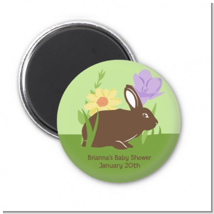 Bunny - Personalized Baby Shower Magnet Favors