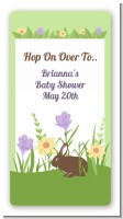 Bunny - Custom Rectangle Baby Shower Sticker/Labels