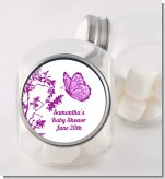 Butterfly - Personalized Baby Shower Candy Jar