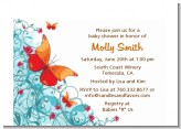 Butterfly Wishes - Birthday Party Petite Invitations