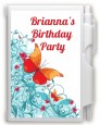 Butterfly Wishes - Birthday Party Personalized Notebook Favor thumbnail