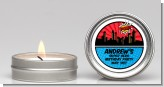 Calling All Superheroes - Birthday Party Candle Favors