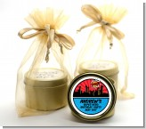 Calling All Superheroes - Birthday Party Gold Tin Candle Favors