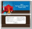 Camping - Personalized Birthday Party Candy Bar Wrappers thumbnail