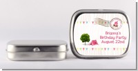 Camping Glam Style - Personalized Birthday Party Mint Tins