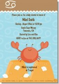 Crab | Cancer Horoscope - Baby Shower Invitations