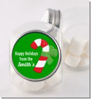 Candy Cane - Personalized Christmas Candy Jar