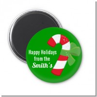 Candy Cane - Personalized Christmas Magnet Favors