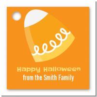 Candy Corn - Personalized Halloween Card Stock Favor Tags
