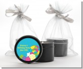 Candy Land - Birthday Party Black Candle Tin Favors