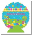 Candy Land - Personalized Birthday Party Centerpiece Stand thumbnail