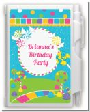 Candy Land - Birthday Party Personalized Notebook Favor