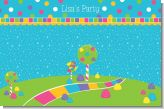 Candy Land - Personalized Birthday Party Placemats