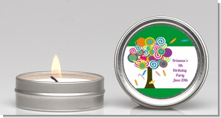 Candy Tree - Birthday Party Candle Favors