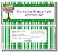 Candy Tree - Personalized Birthday Party Candy Bar Wrappers thumbnail