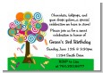 Candy Tree - Birthday Party Petite Invitations thumbnail
