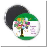 Candy Tree - Personalized Birthday Party Magnet Favors