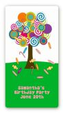 Candy Tree - Custom Rectangle Birthday Party Sticker/Labels