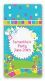 Candy Land - Custom Rectangle Birthday Party Sticker/Labels