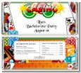 Casino Night Vegas Style - Personalized Birthday Party Candy Bar Wrappers thumbnail