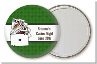 Casino Night Royal Flush - Personalized Birthday Party Pocket Mirror Favors