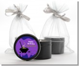 Cauldron & Potions - Birthday Party Black Candle Tin Favors