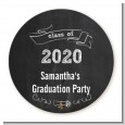 Chalkboard Celebration - Personalized Graduation Party Table Confetti thumbnail