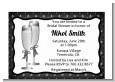 Champagne Glasses - Bridal Shower Petite Invitations thumbnail