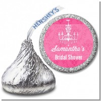 Chandelier - Hershey Kiss Bridal Shower Sticker Labels