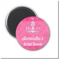 Chandelier - Personalized Bridal Shower Magnet Favors