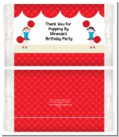Cheerleader - Personalized Popcorn Wrapper Birthday Party Favors