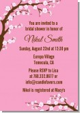 Cherry Blossom - Bridal Shower Invitations