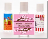 Cherry Blossom - Personalized Baby Shower Hand Sanitizers Favors