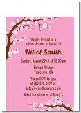 Cherry Blossom - Bridal Shower Petite Invitations