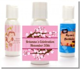 Cherry Blossom - Personalized Baby Shower Lotion Favors