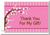 Cherry Blossom - Baby Shower Thank You Cards