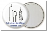 Chicago - Personalized Bridal Shower Pocket Mirror Favors