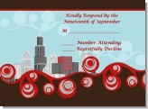 Chicago Skyline - Bridal Shower Response Cards
