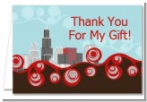 Chicago Skyline - Bridal Shower Thank You Cards