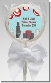 Chicago Skyline - Personalized Bridal Shower Lollipop Favors
