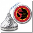 Chinese New Year Dragon - Hershey Kiss Baby Shower Sticker Labels thumbnail