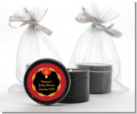 Chinese New Year Lantern - Baby Shower Black Candle Tin Favors